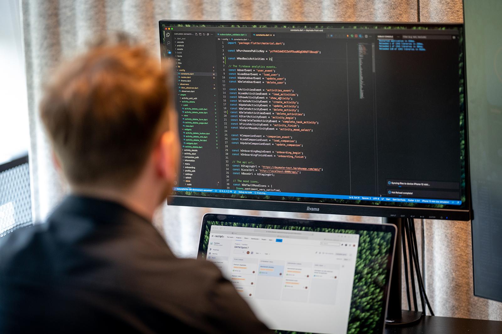 Script mobile en web development - Interesseformulier